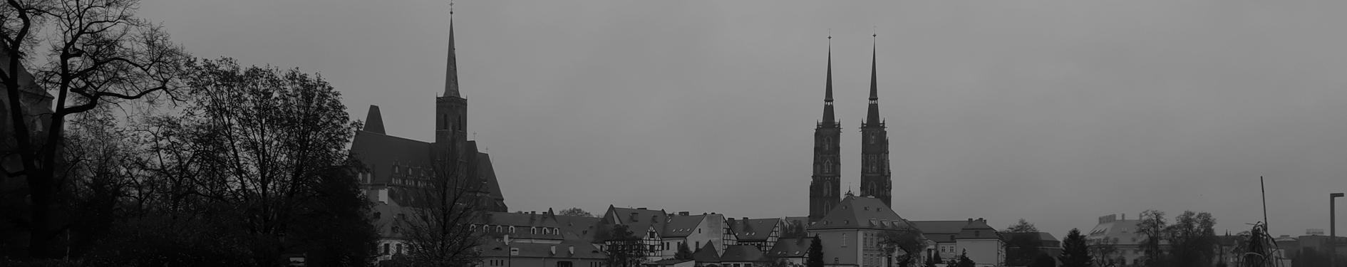 Wrocław w kolorach czarno białych