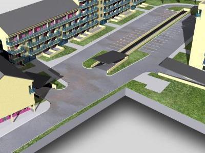 Budynki i projekty budynków zagospodarowania 36